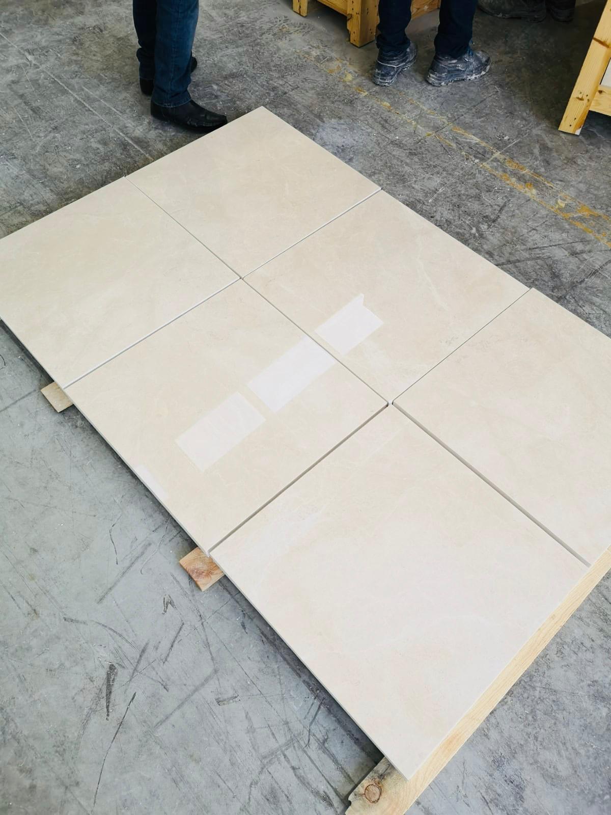 Polished Beige Marble Tiles