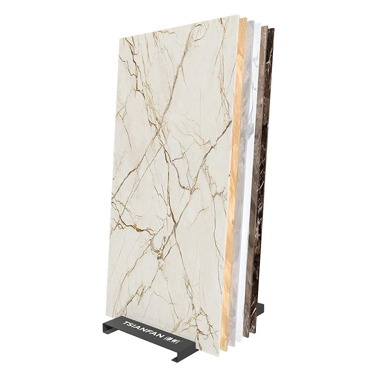 Metal Porcelain Slab Tile Display Stand