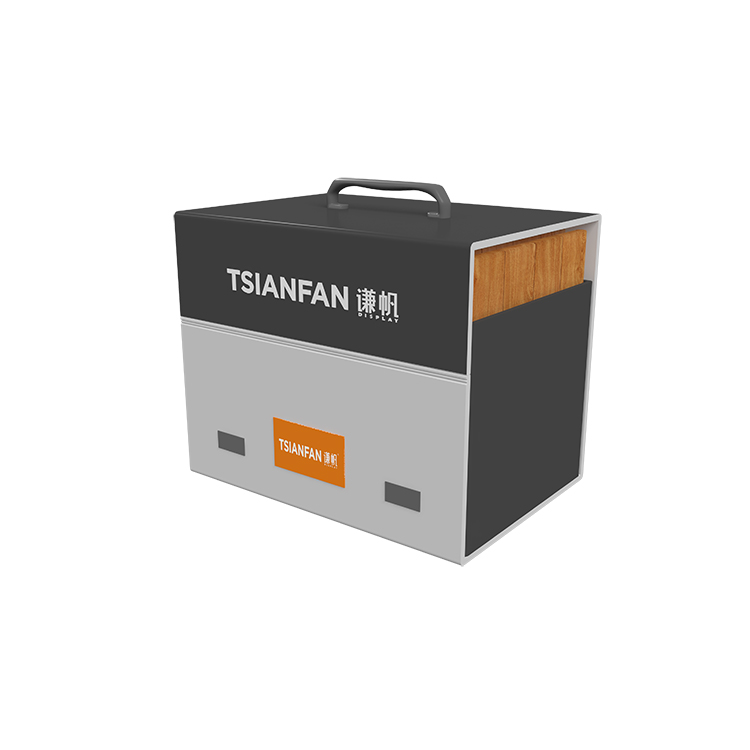 Wood Flooring Tile Sample Display Box