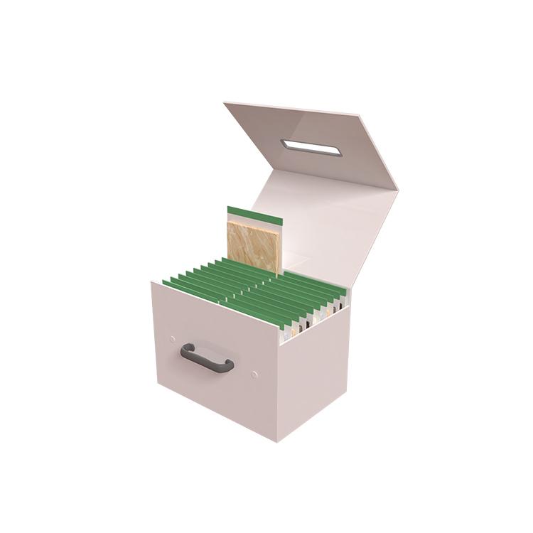 Ceramic Tile Sample Display Handle Box