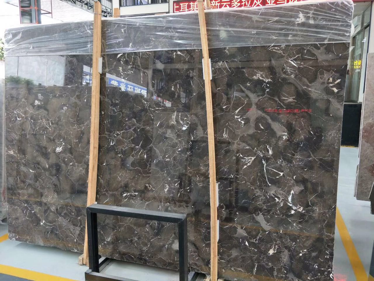 China Brown Marble Slabs Cut-to-size finished products polished