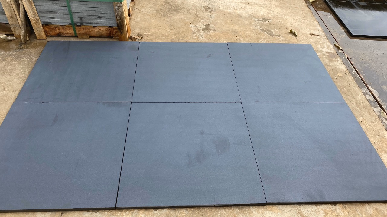 Vietnam basalt honed- black basalt honed