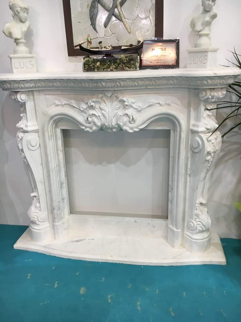 Limestone Fireplaces & Marble Fireplaces