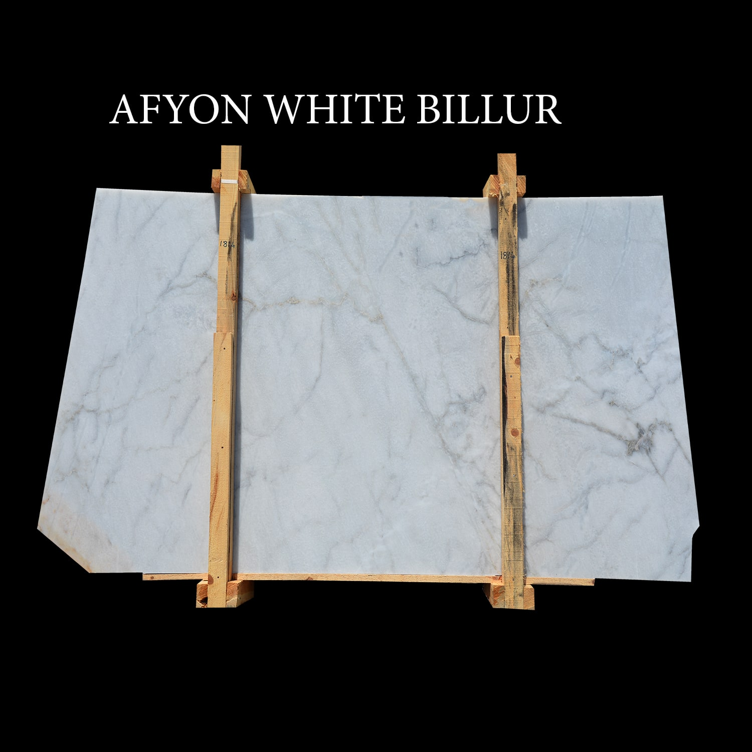 Afyon White Slabs Billur Slabs