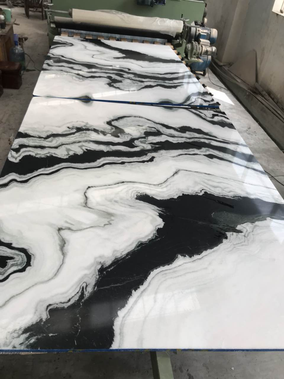 New arrival panda white marble