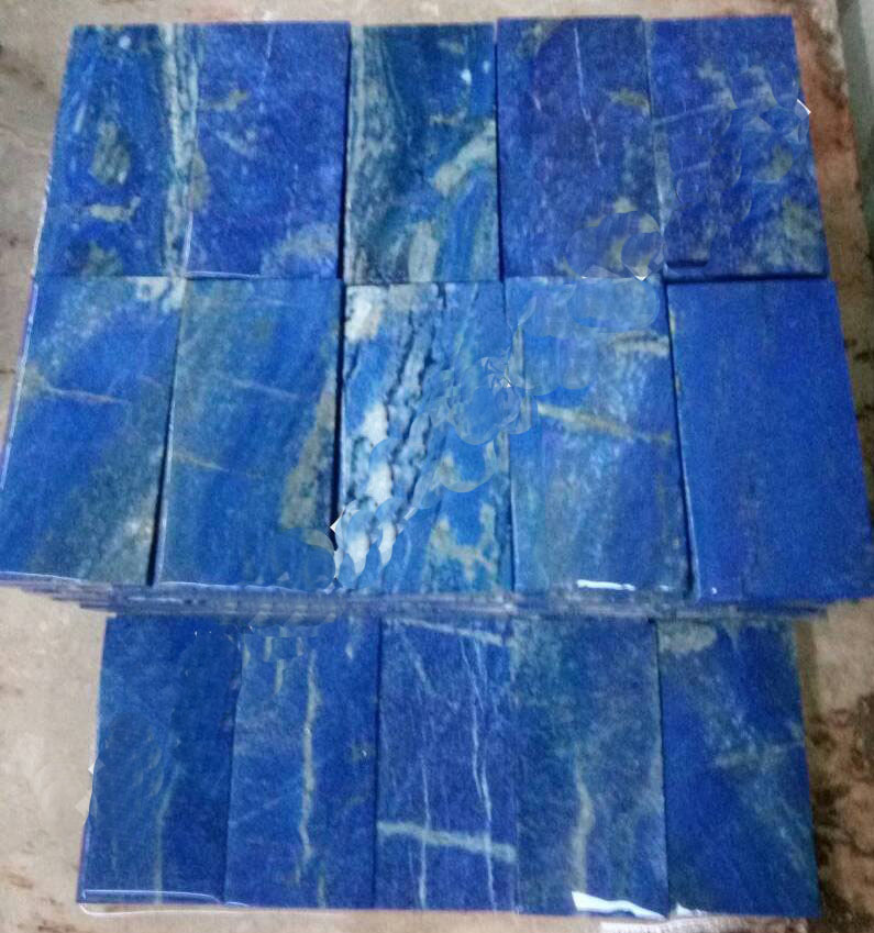 lapis mosaic tiles
