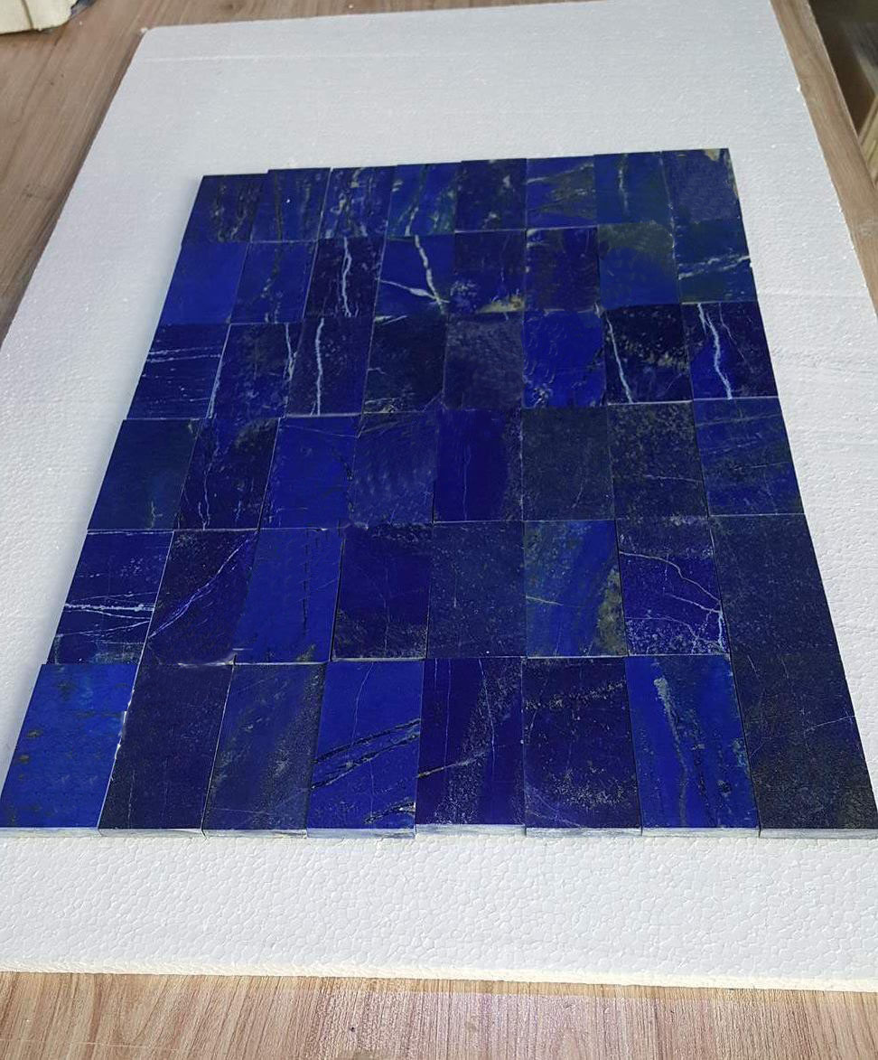 lapis lazuli mosaic tiles
