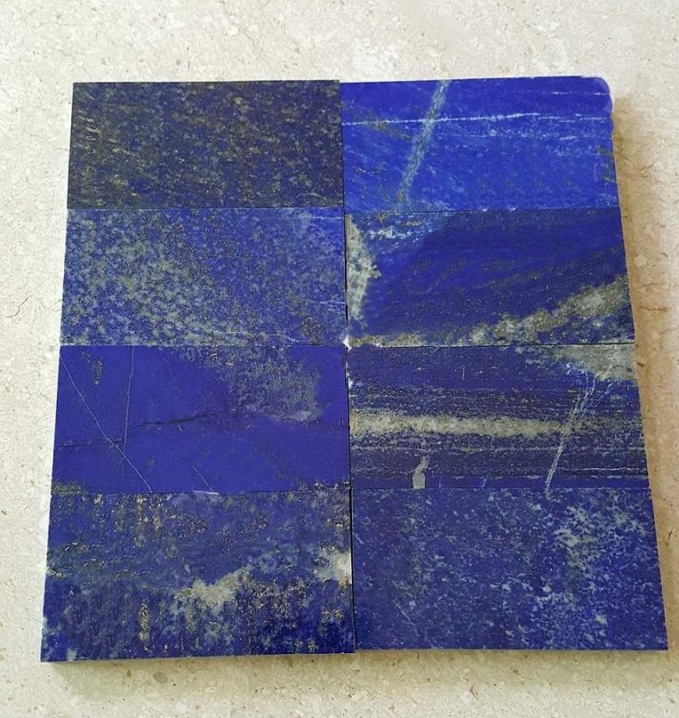 lapiz lazuli mosaic tiles