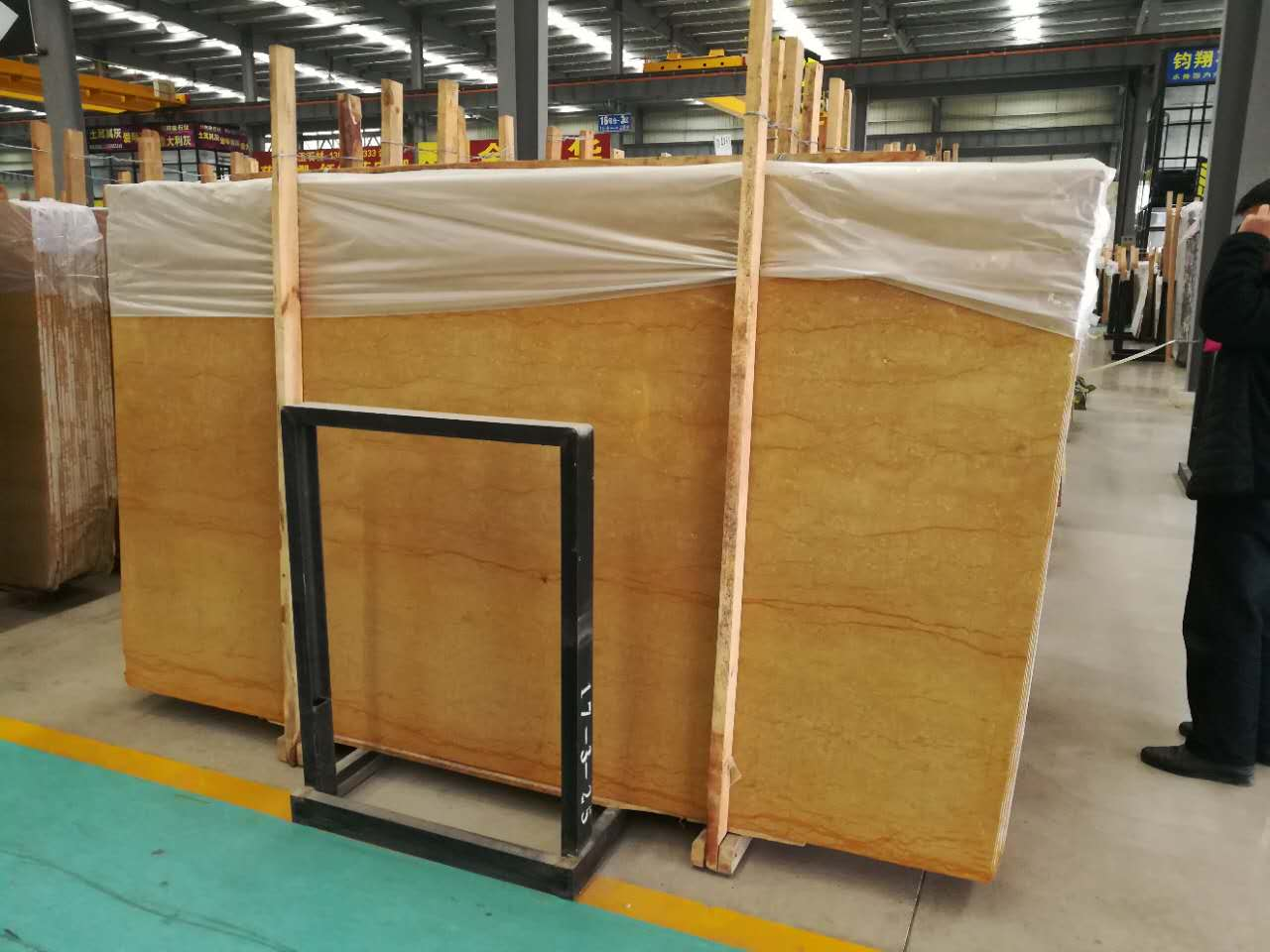 Emperor Gold Marble Slabs & Tiles for Wall Covering