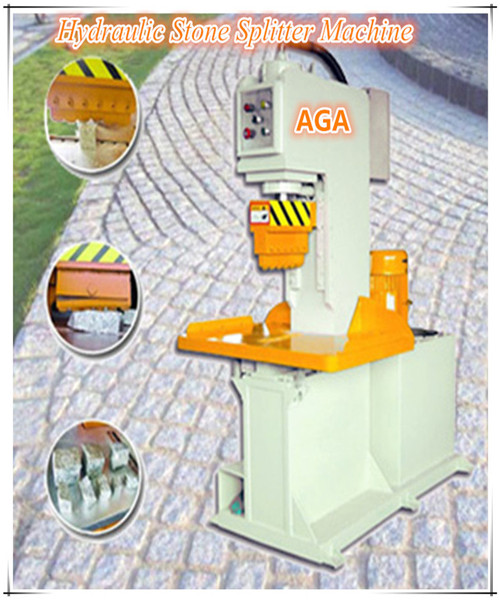 Hydraulic Stone Cutting Machine for Splitting Cobble Paving Stone