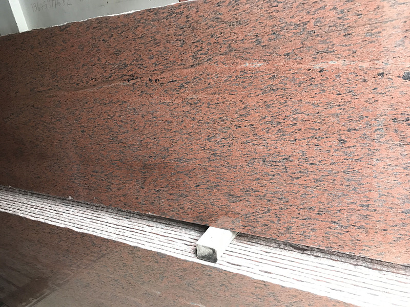 Red Granite Random Slab