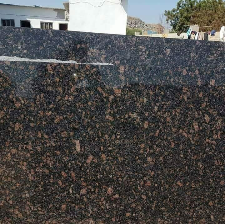 Aswan Black Polished Granite Slabs