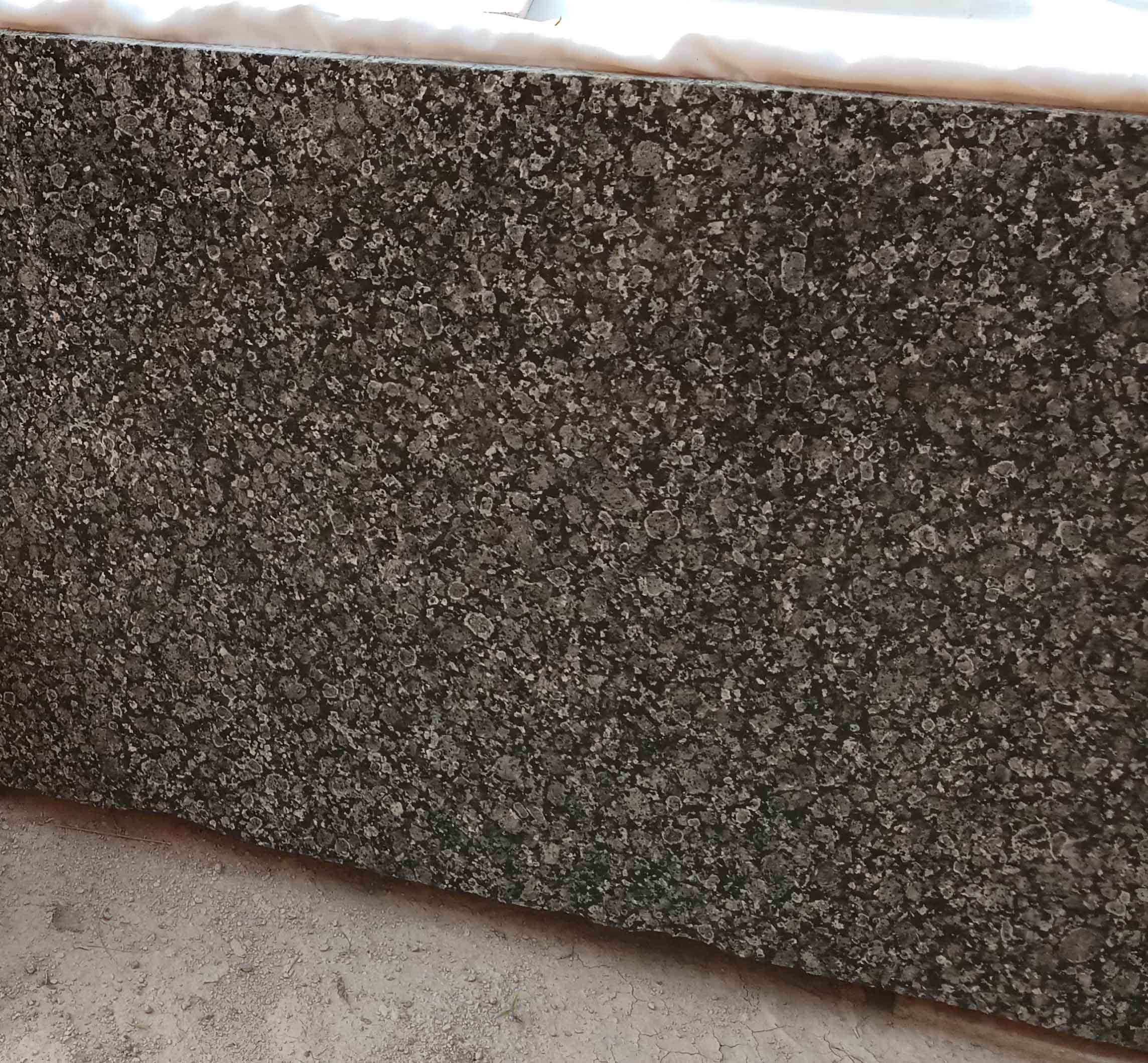 Polished Indian Brown Granite Slabs