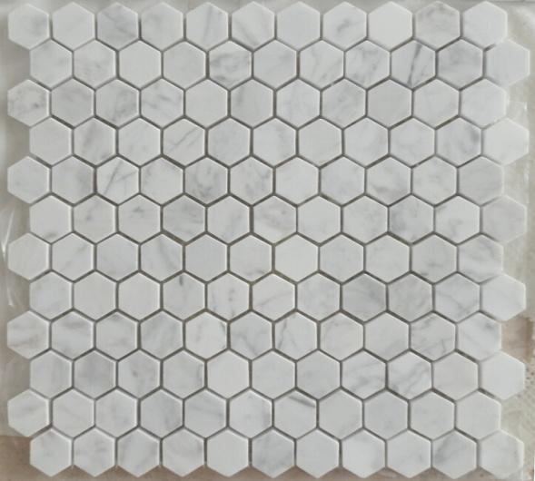 Carrara Marble Mosaics