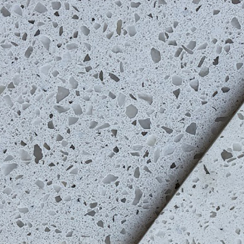 Crystal white color artificial quartz stone China