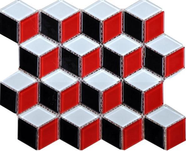 Clear crystal mosaic