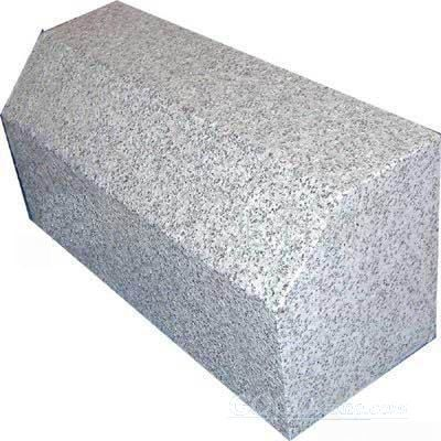 grey granite kerbstone paving