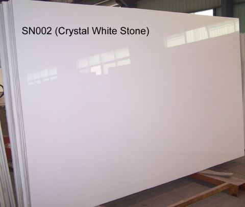 nano white crystallized glass stone