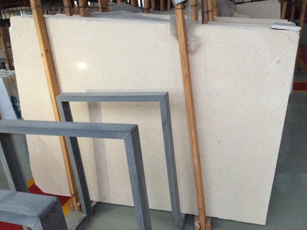 Moca Cream Limestone Slabs