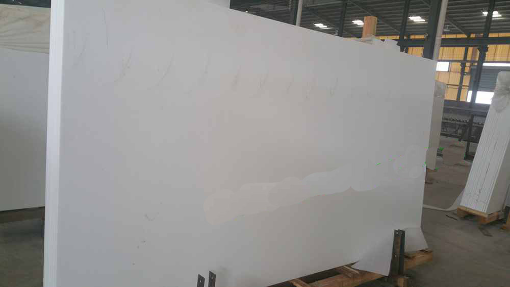 Super nano glass white crystallized glass stone panel