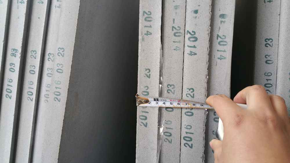 Artificial stone grey color big size slabs #2014