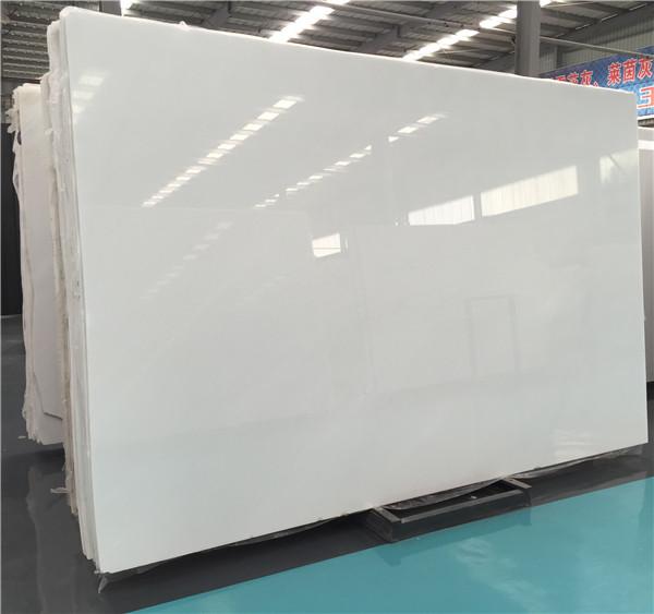 White Jade marble slab