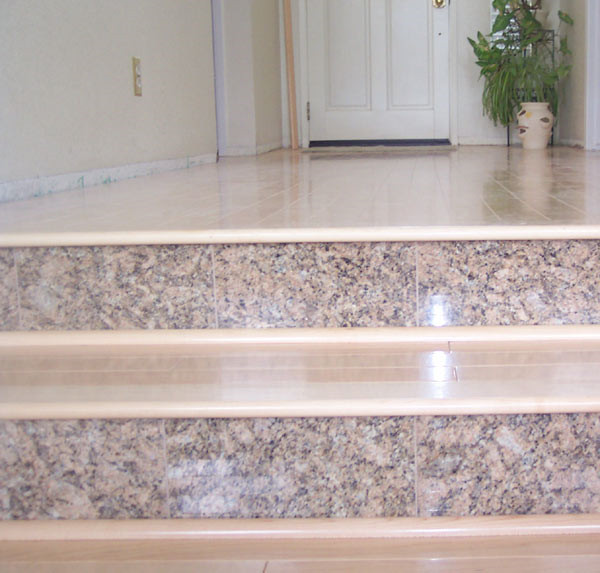 marble tiles for stair