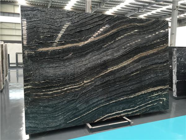 china dark wooden marble slab