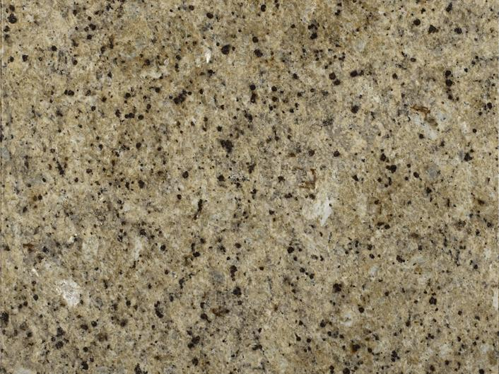 Yellow granite countertop