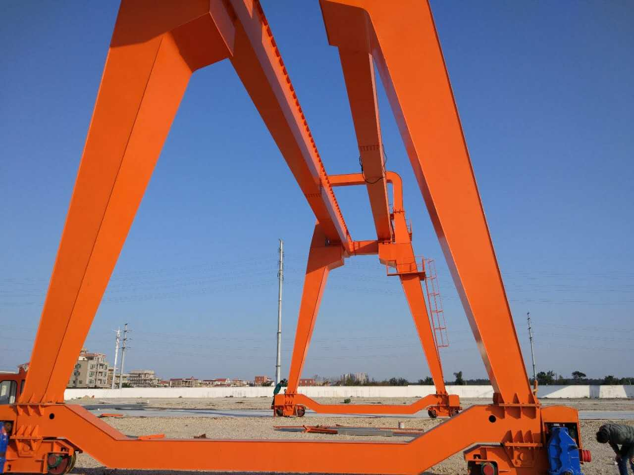 Gantry Crane for Carrying Big Blocks Stone Gantry Crane Granite Block Gantry Crane Marble Block Gantry Crane