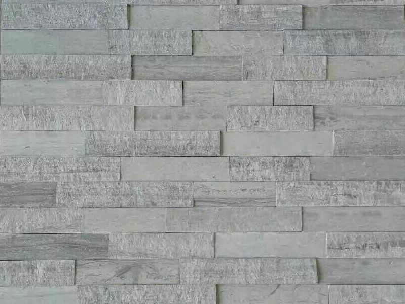Glued 3 D Marble Wall Panel Cladding Tile