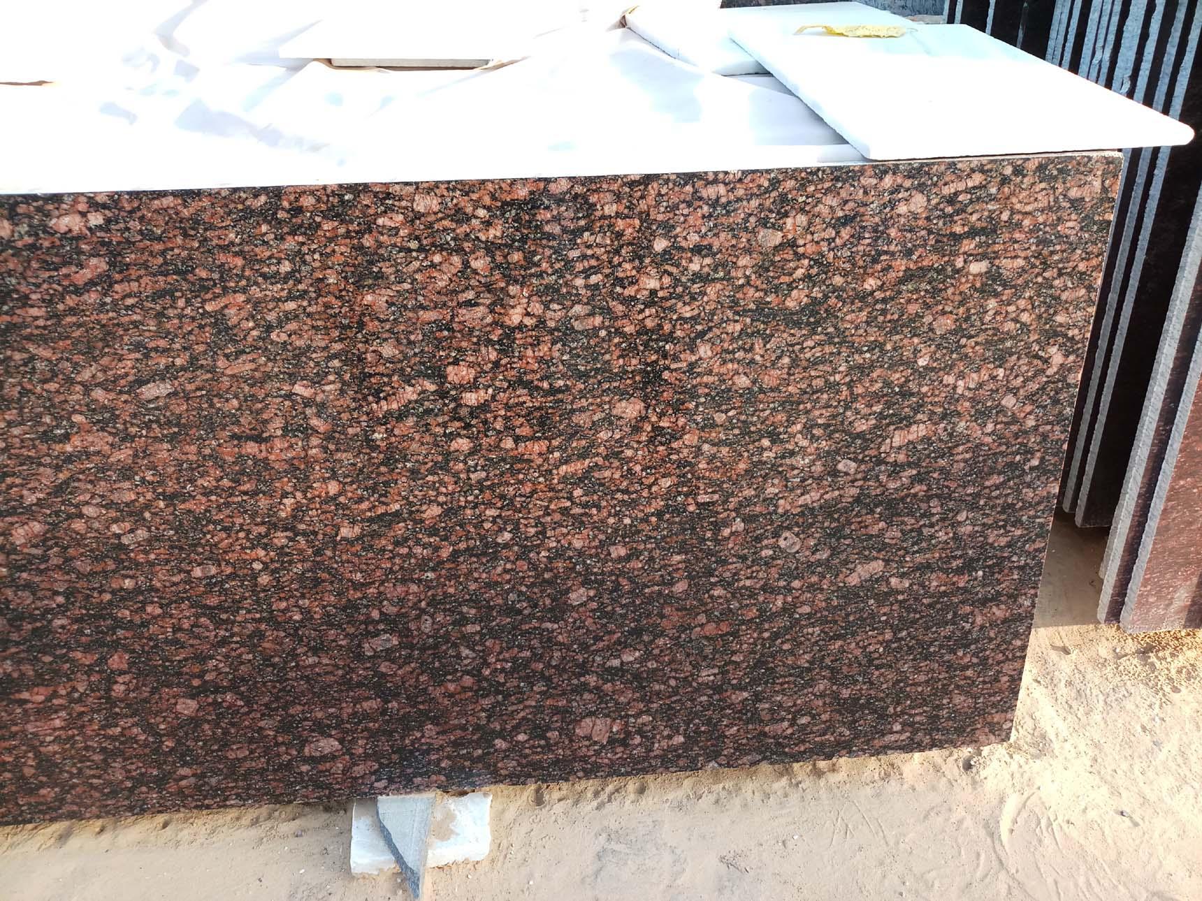 Indian Brown Granite Tiles