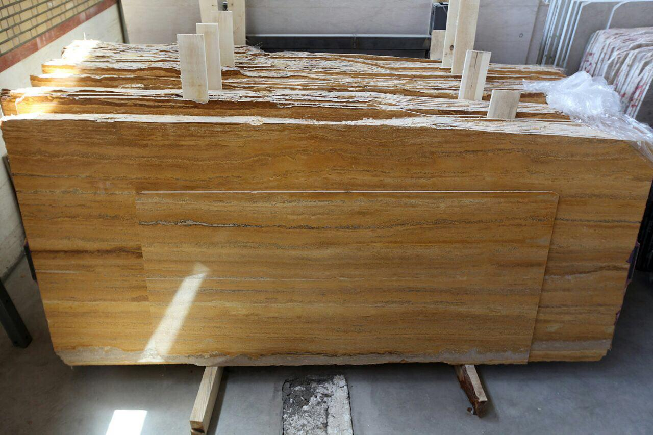lemon azarshahr travertine
