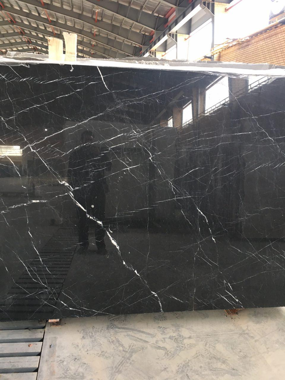 Nero Marquina Marble Slabs