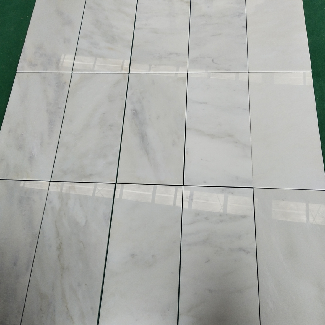 Kangba Jade White Marble Tiles  Slabs China White Marble Floor Covering  Tiles