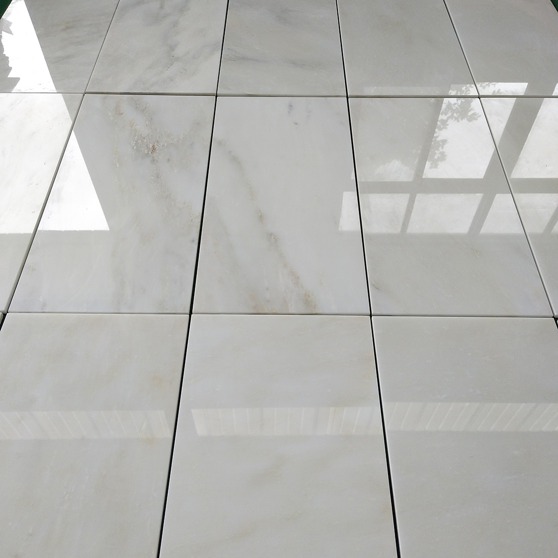 Kangba White Marble Tiles  White Marble Cut to Size Wall Floor Tiles