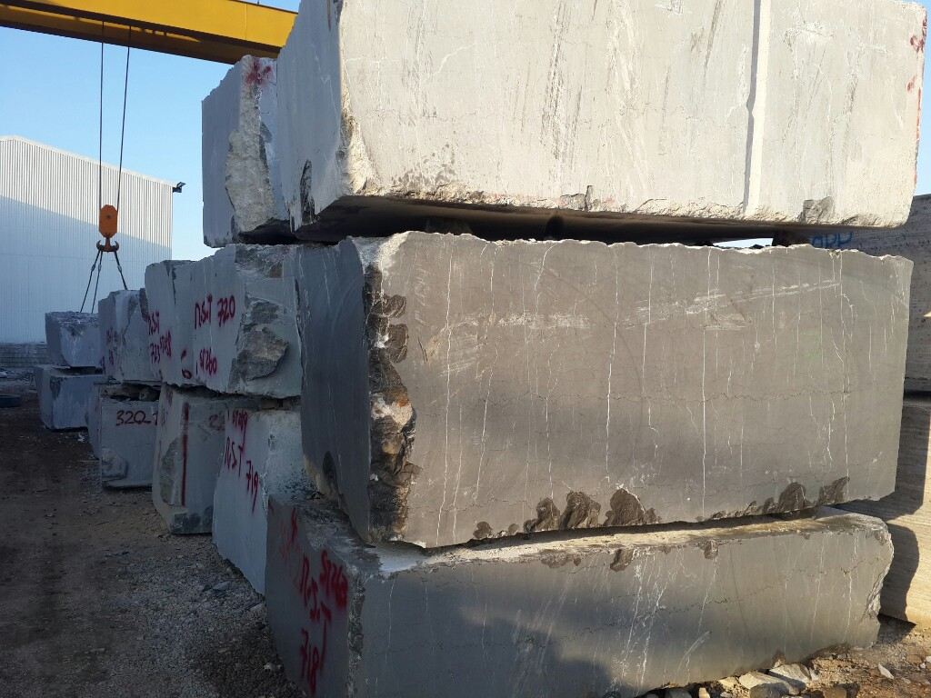 Pietra Grey Block Iranian Marble Blocks