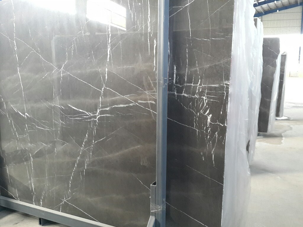 Pietra Grey Slab Polished Marble Slabs