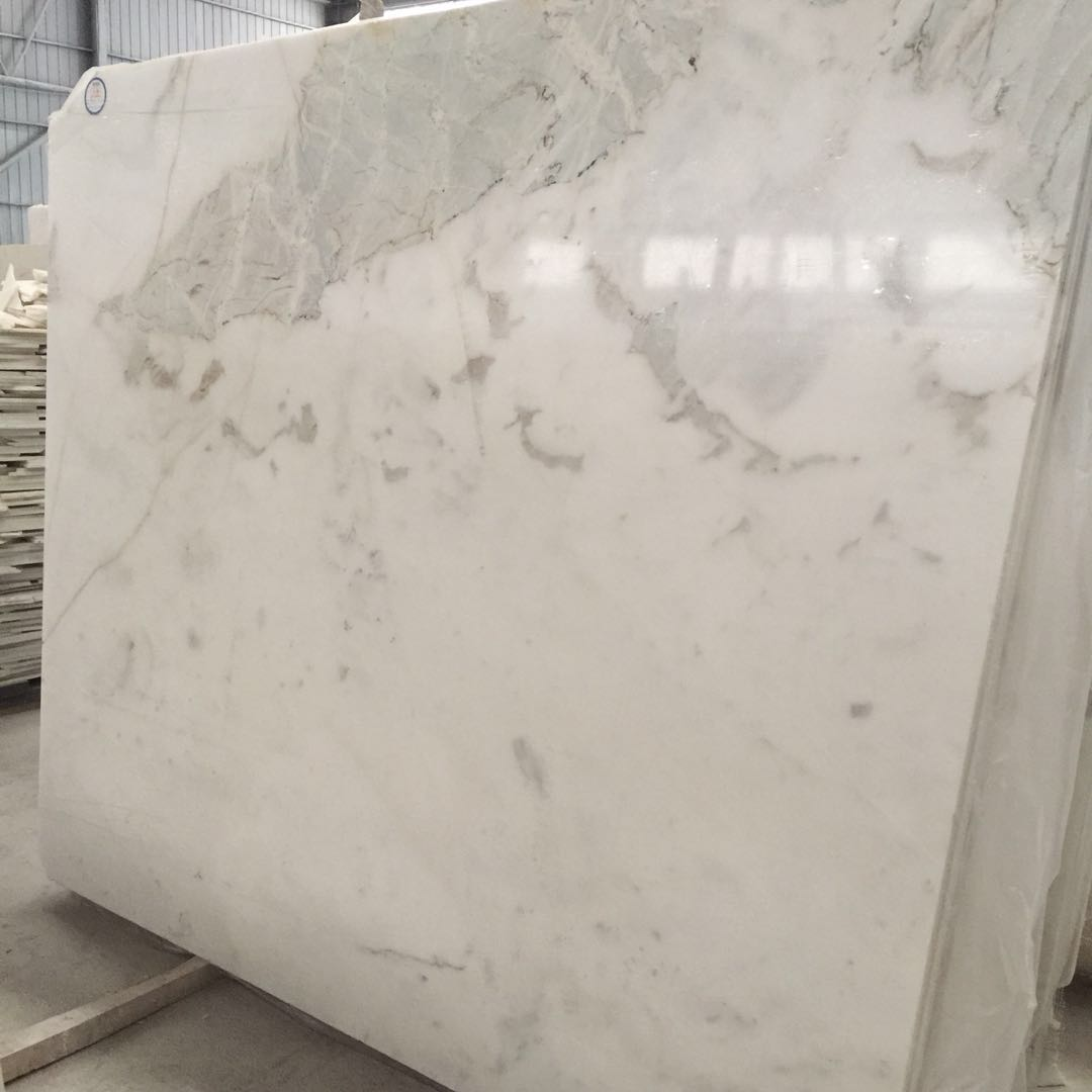 Snow White Jade Marble Slabs