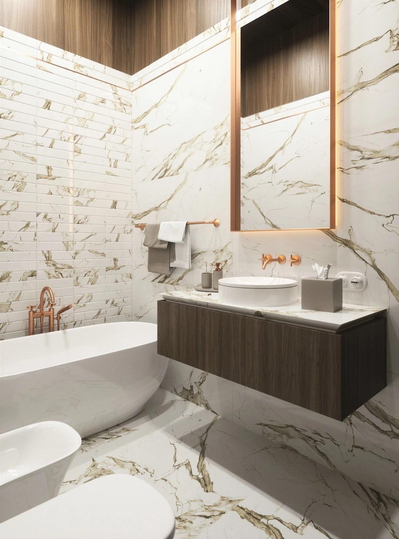 Calacatta gold vanity top bathroom countertops tops