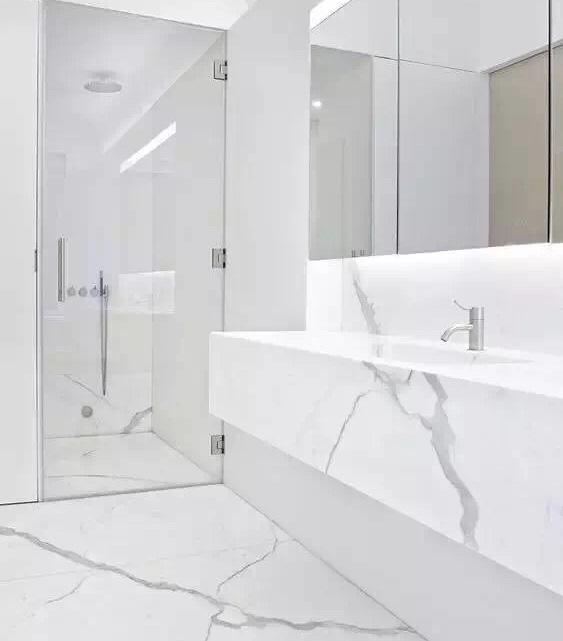 Bianco Calacatta Batjroom Vanity Tops