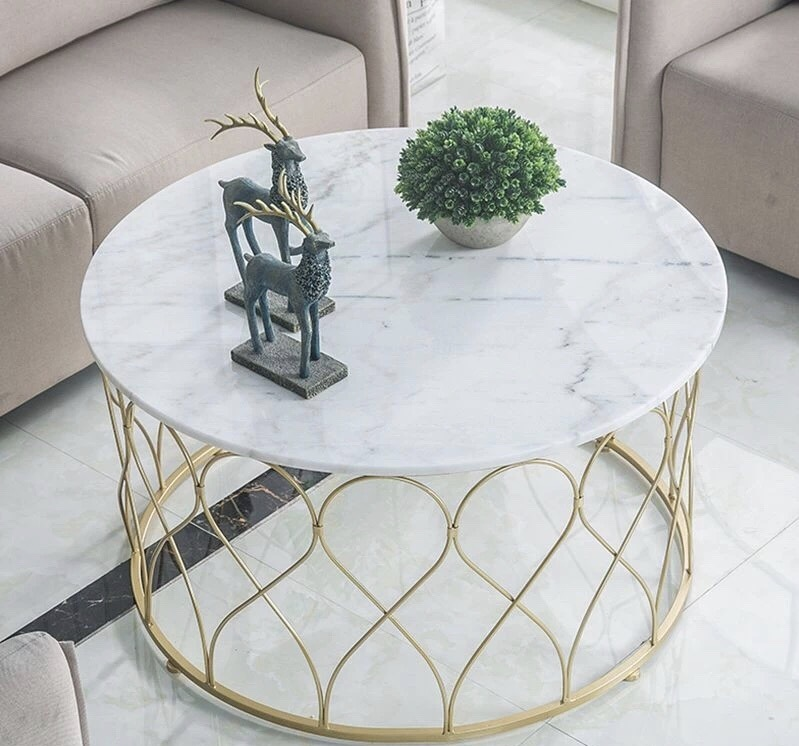 Pure White Marble Dinner Tops