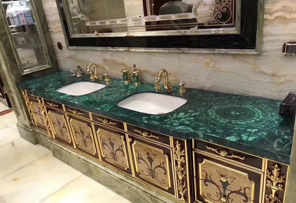 Formosa Green Bathroom Vanity Tops