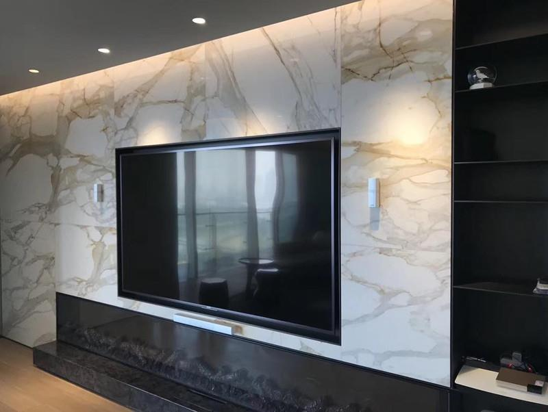 Calacatta Gold Marble For Wall Design