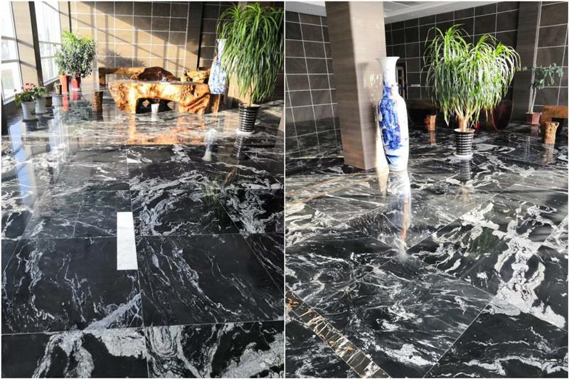 Luxury Black Marble For Hotel Lobby