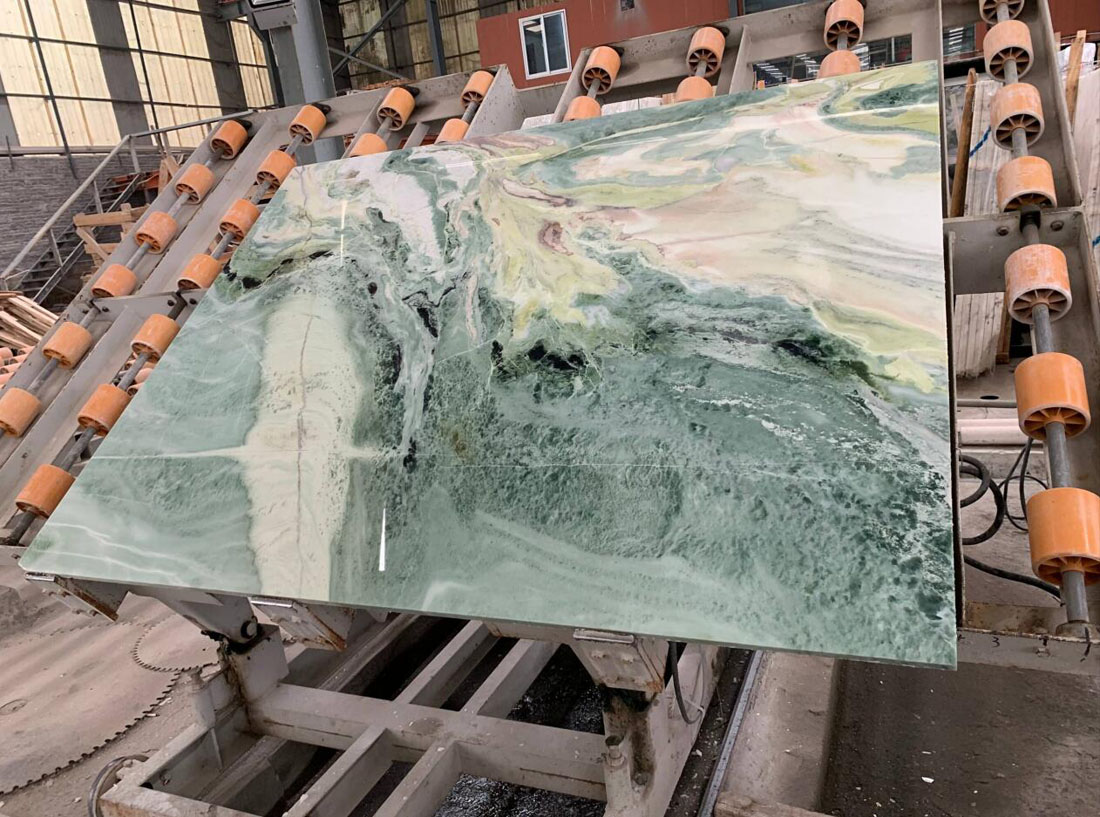 Green Marble Slabs Polished Marble Slabs