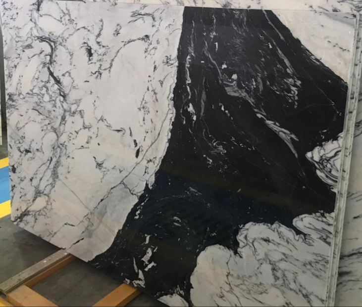 Royal White Polished Marble Slabs