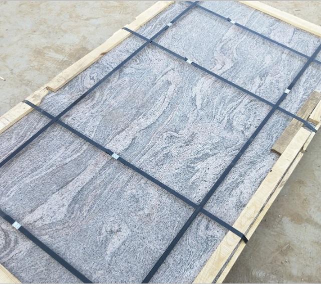 Grey granite stone floor and wall tiles