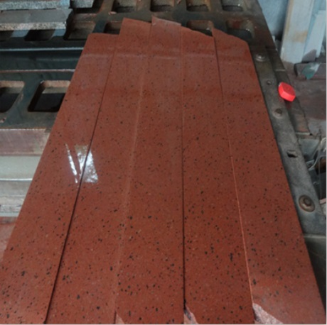Natural red polished granite wall stone tiles