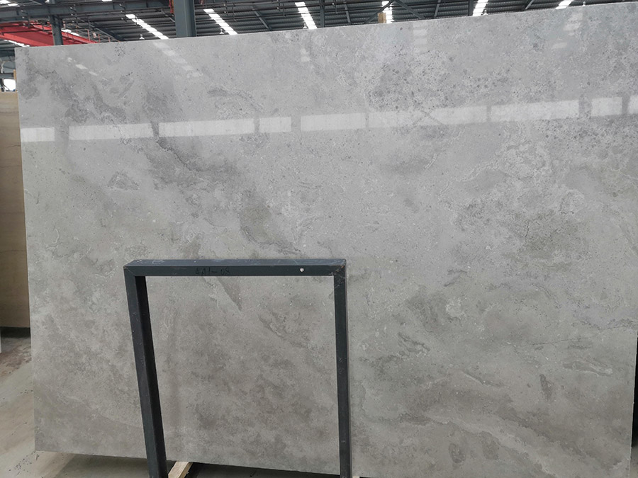 Golden Gray Marble Slabs China